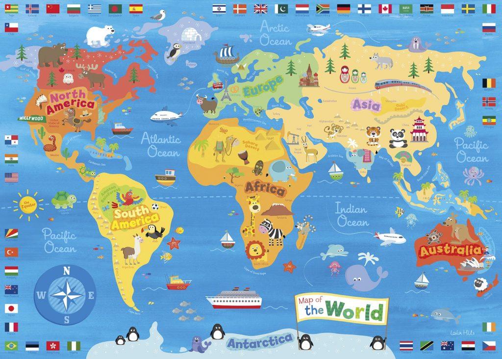 dunya haritası