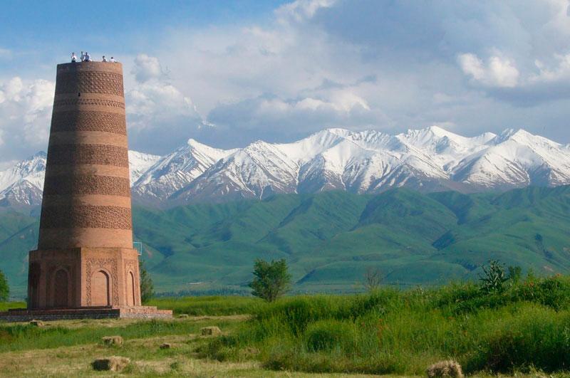 BURANA tower kırgızistan