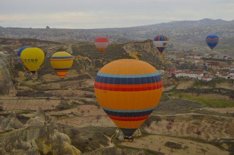 Baharda Ailece Kapadokya'ya